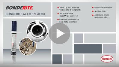 Bonderite M-cr 871 Aero Application Video